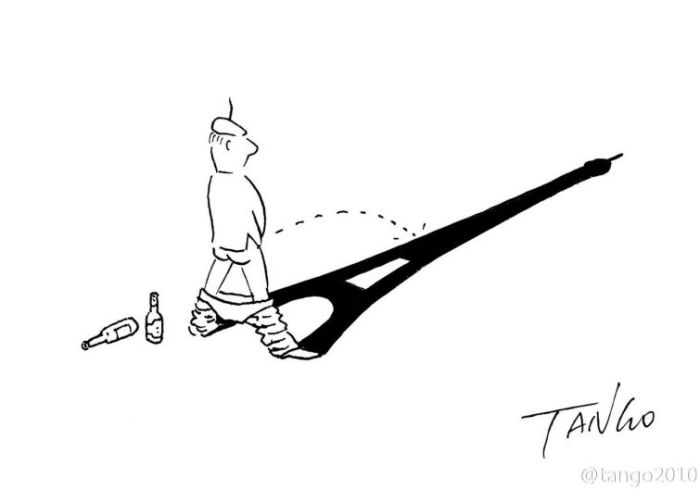 Эйфелева башня. Автор: Tango.