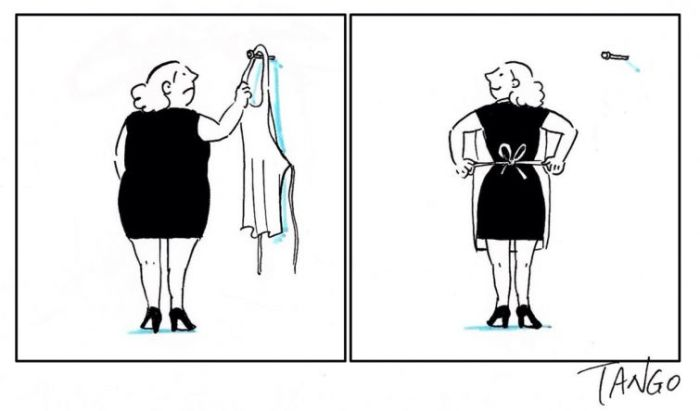 Маленькое чёрное платье. Автор: Tango.