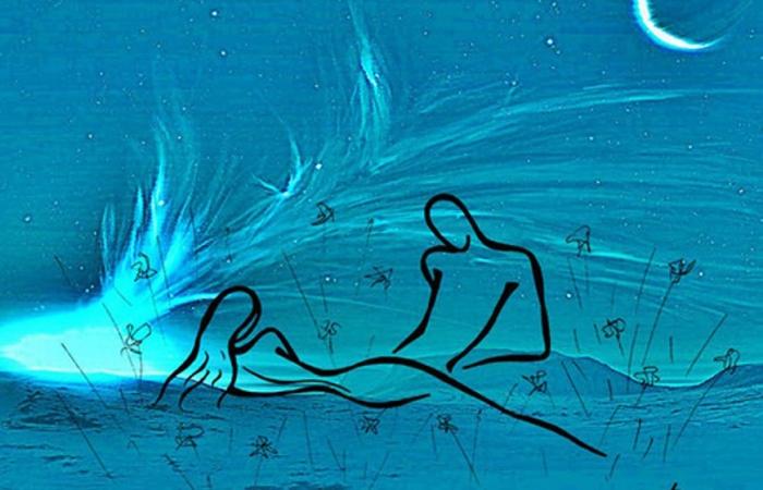 Романтическая ночь. Автор: Татьяна Марковцева.