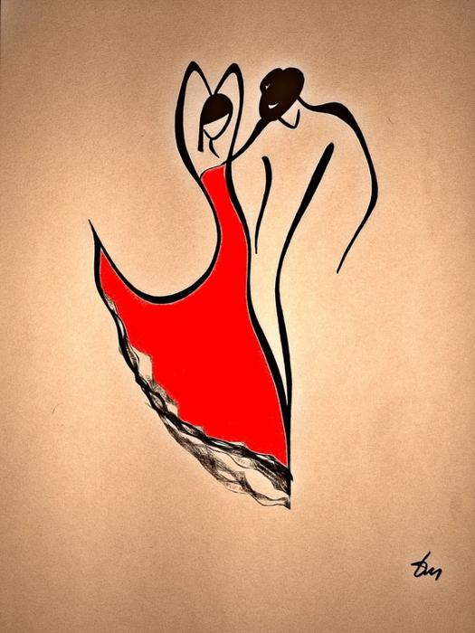 Танец. Автор: Татьяна Марковцева.