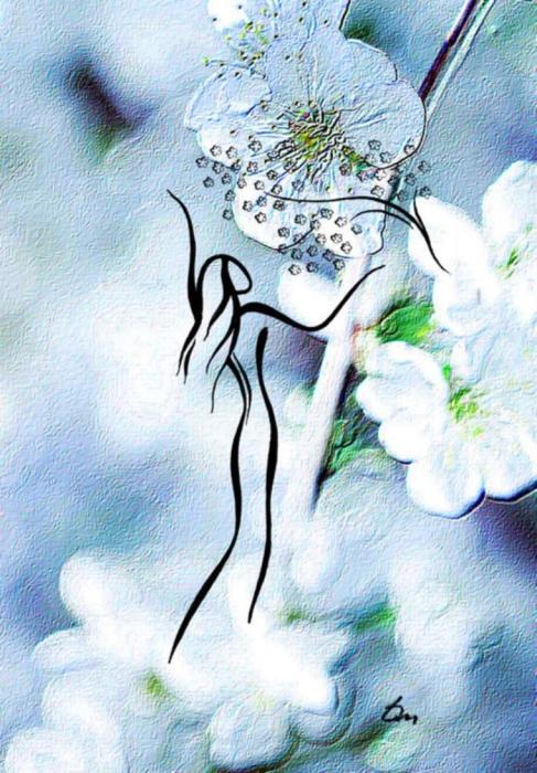 Она пахнет весной. Автор: Татьяна Марковцева.