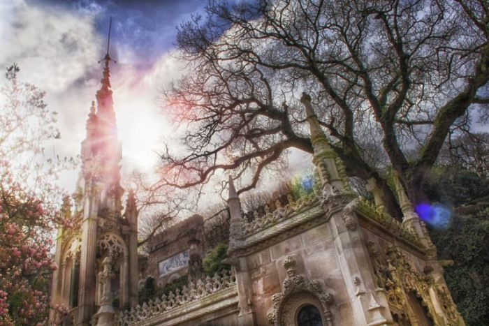 Церковь. Quinta da Regaleira. Фото Taylor Moore.