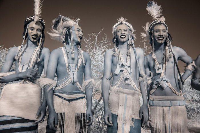 Геревол - колоритный фестиваль народа Водабе.  Автор фото: Терри Голд (Terri Gold).
