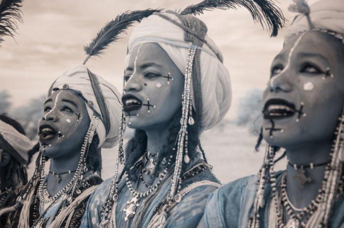 Юные красавцы племени Водаби во время конкурса. Автор фото: Терри Голд (Terri Gold).