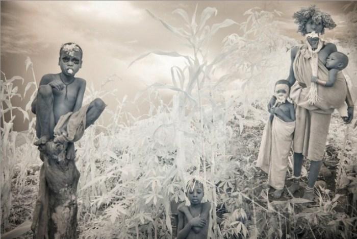 Здесь рисунками украшают тела с малых лет.  Автор фото: Терри Голд (Terri Gold).