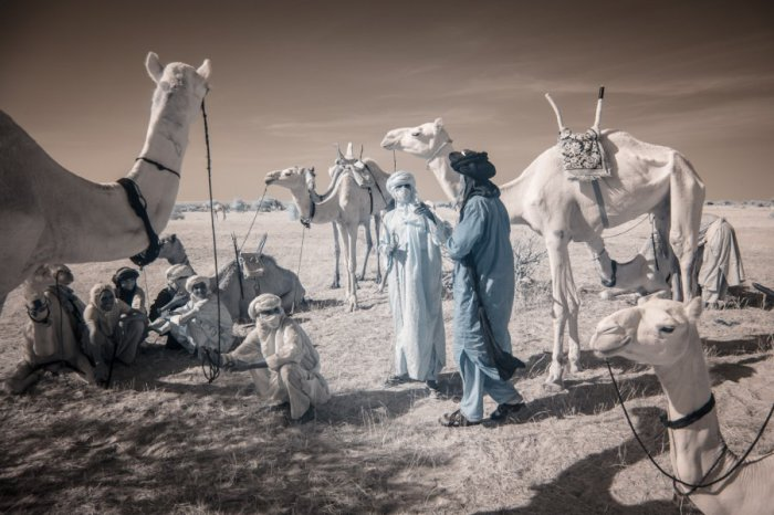 Кочевники племени Водаби. Автор фото: Терри Голд (Terri Gold).