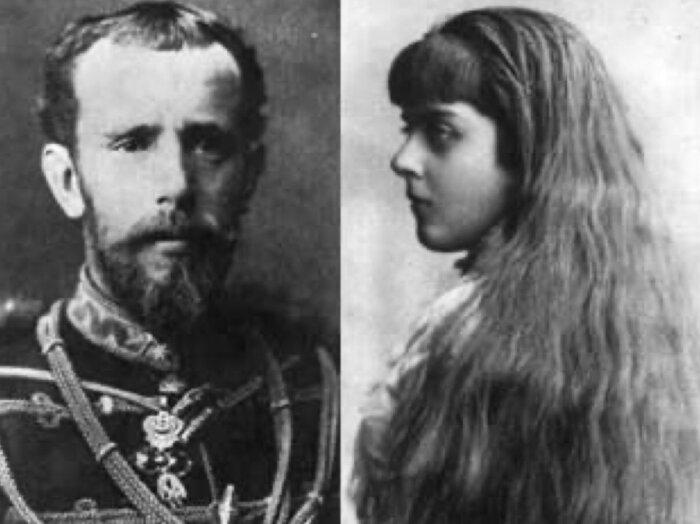 Кронпринц Рудольф и Мария Вечере. \ Фото: twitter.com.