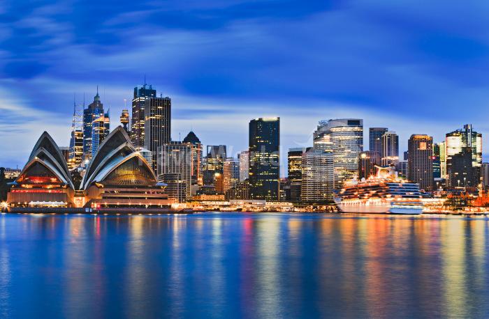 Яркий космополитичный Сидней похож на огромный пэчворк.