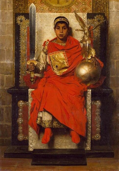 Поздняя империя: Гонорий, Жан-Поль Лоран, 1880 год. \ Фото: asianprofile.wiki.