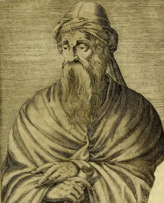 Богослов пятого века Феодорит. \ Фото: thereaderwiki.com.