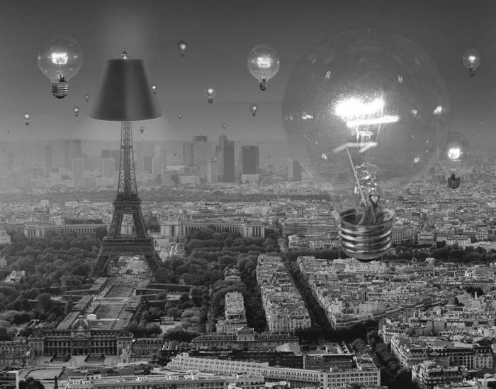 Небесные лампочки. Автор: Thomas Barbey.