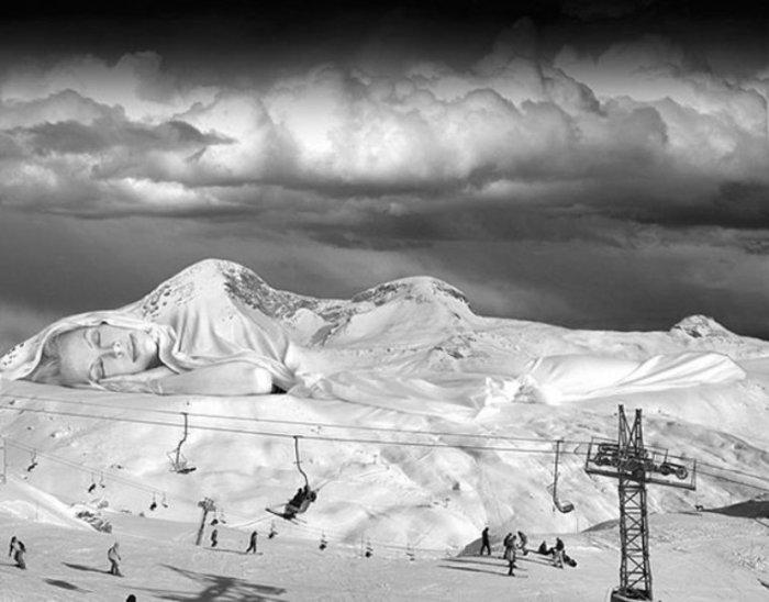 Высоко в горах. Автор: Thomas Barbey.