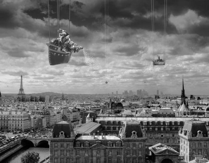 Небесные качели. Автор: Thomas Barbey.