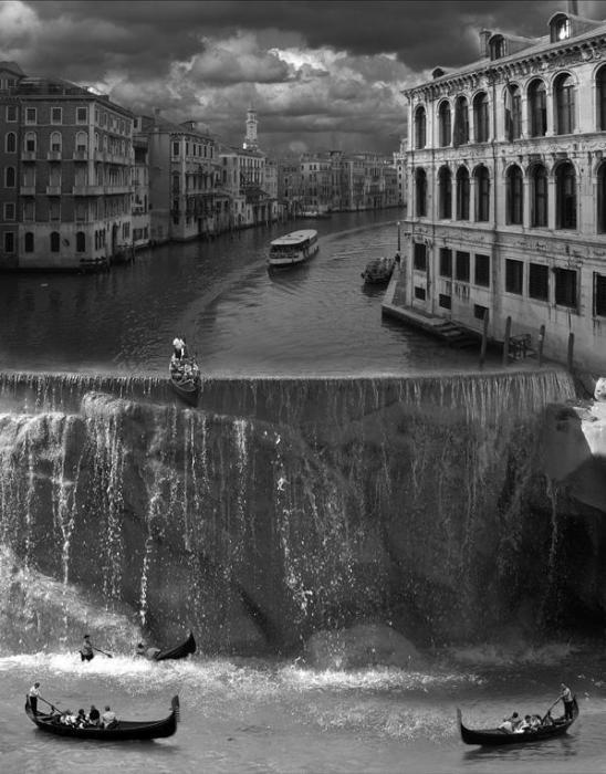 Водопад. Автор: Thomas Barbey.