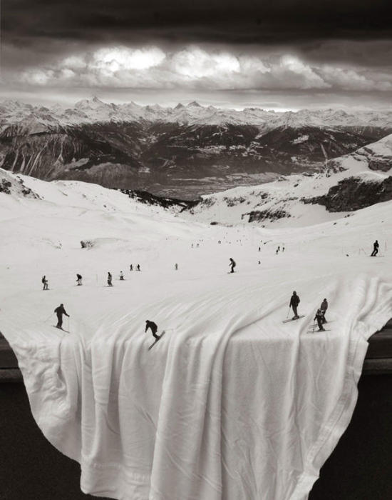 Горнолыжный курорт. Автор: Thomas Barbey.