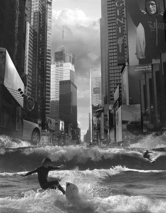 Покоряя волны. Автор: Thomas Barbey.