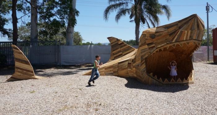 Акула, Золотое побережье, Австралия. Автор: Thomas Dambo.