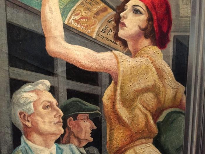 Деталь: Америка сегодня, Томас Харт Бентон, 1930-31 гг. \ Фото: blogspot.com.