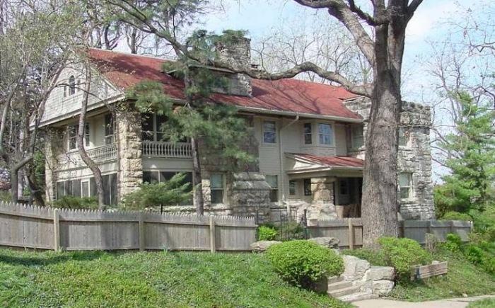 Дом Томаса Харта Бентона. \ Фото: blogspot.com.