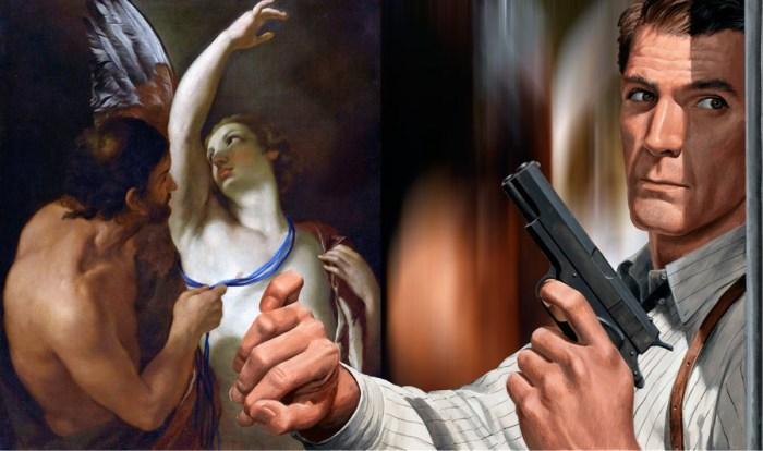 Духовная аллегория изобилует мощью браунинга. Автор: Thomas Robson.