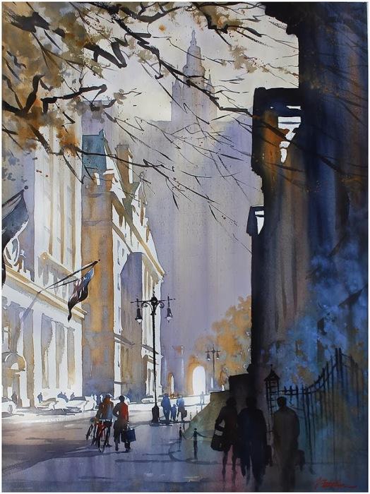 Чеймберс-стрит. Автор: Thomas Schaller.