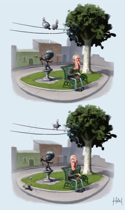 Суровая правда жизни. Автор: Tiago Hoisel.