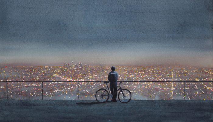Человек в лунном свете. Автор: Tim Gardner.