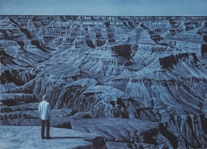 Гранд-Каньон, Лунный свет. Автор: Tim Gardner.