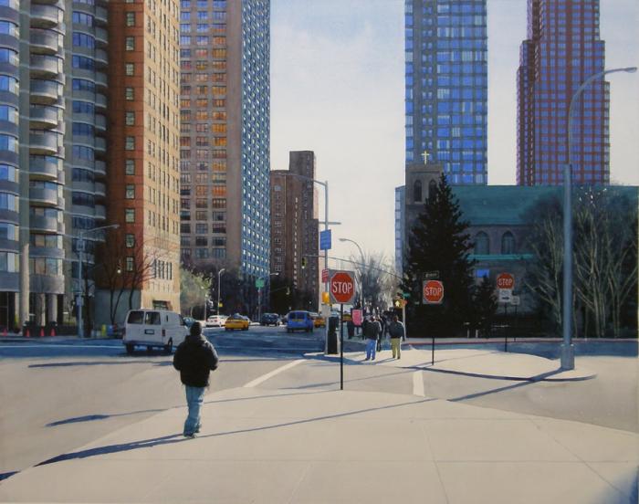 Нью-Йоркский парень. Автор: Tim Gardner.