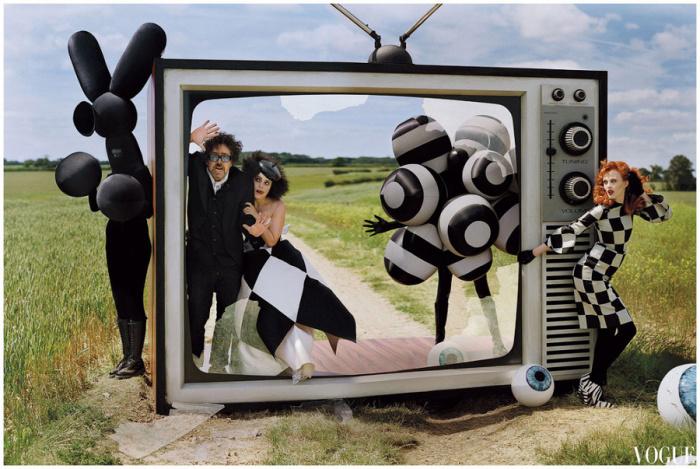 Старый телевизор. Автор: Tim Walker.