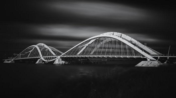 Enneus Heerma - мост недалеко от Амстердама. Автор: Tobias Gawrisch.