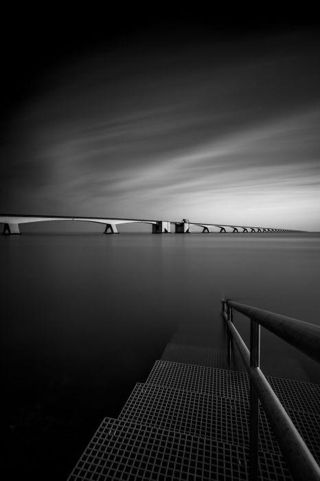 Зеландский мост, Нидерланды. Автор: Tobias Gawrisch.