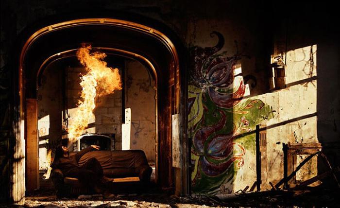Огненное дыхание. Фото Tom Lacoste.
