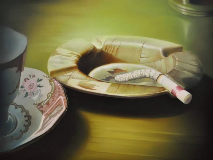 Сигарета. Автор: Tomona Matsukawa.