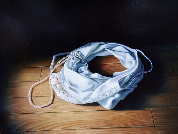 Жемчужная нить. Автор: Tomona Matsukawa.