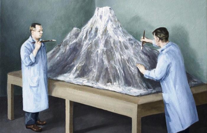 Ироничные иллюстрации о попытках человека переспорить природу. Автор: Toni Hamel.