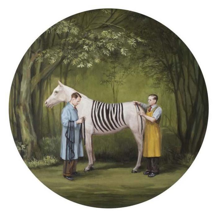 «Самозванец (прекрасная зебра)». Автор: Toni Hamel.