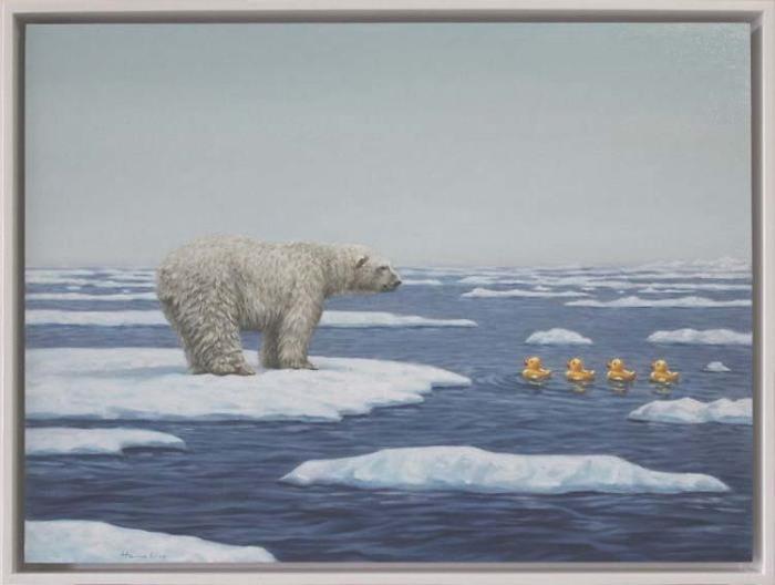 «Плавающие». Автор: Toni Hamel.