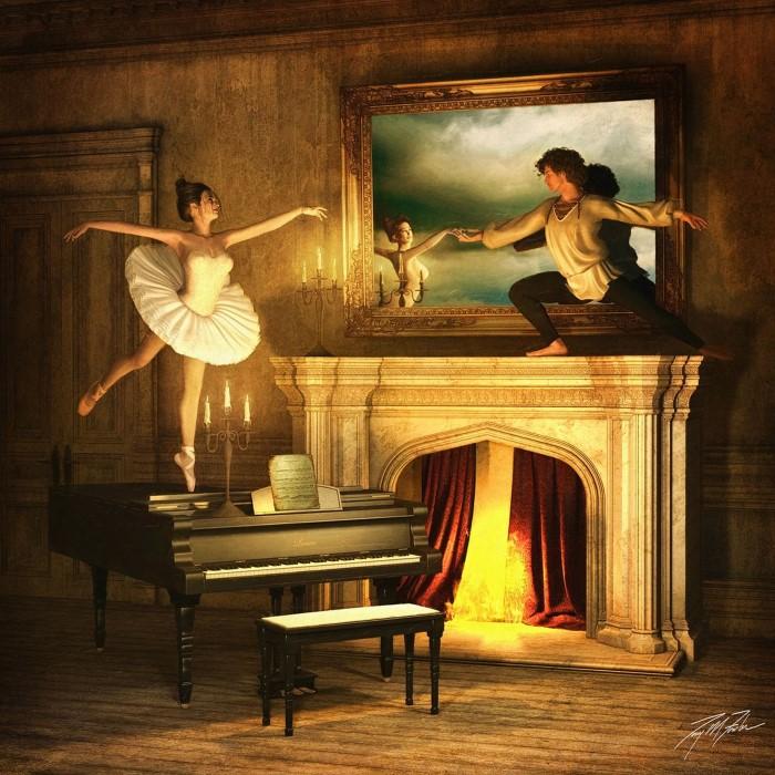 Танец. Автор: Tony Fowler.