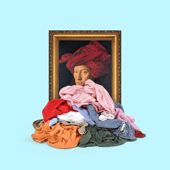 Портрет мужчины в красном тюрбане. Автор: Tony Futura.