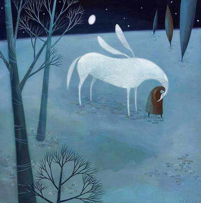 Крылатая лошадь. Автор: Tracie Grimwood.
