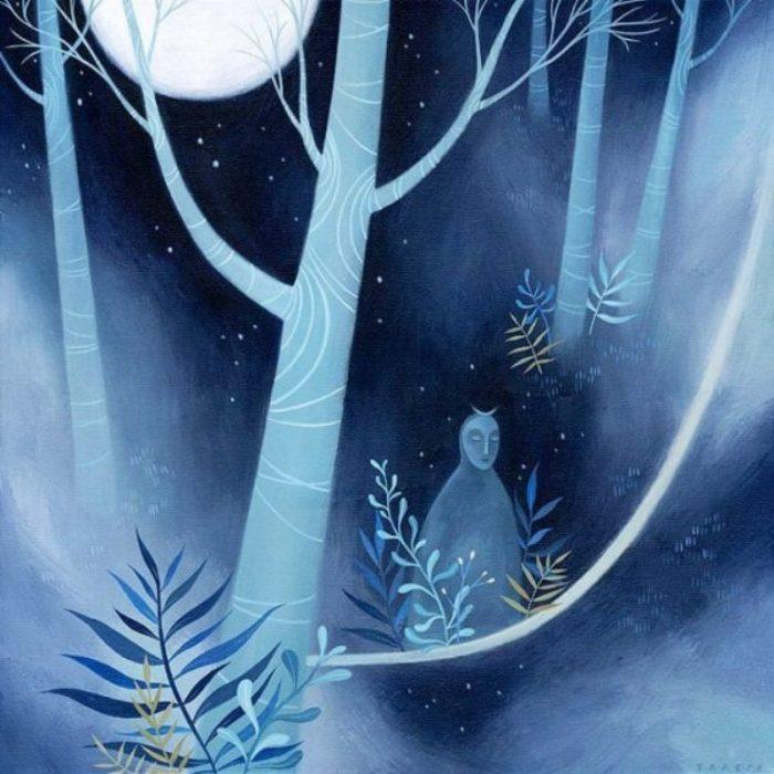 Лунная ночь. Автор: Tracie Grimwood.