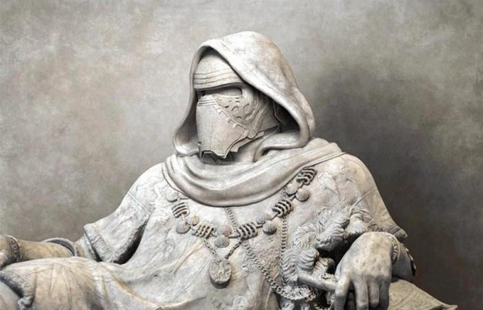 Персонажи Звёздных войн в стиле античных скульптур. Автор: Travis Durden.