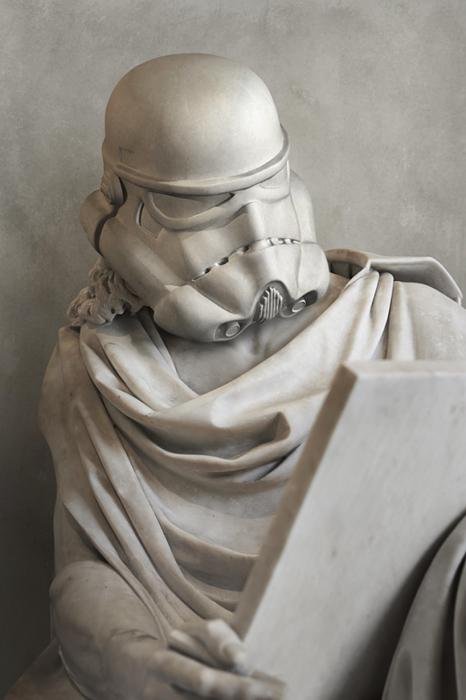 Имперский штурмовик. Автор: Travis Durden.
