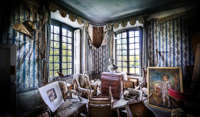 Загадочные интерьеры от Trey Ratcliff.