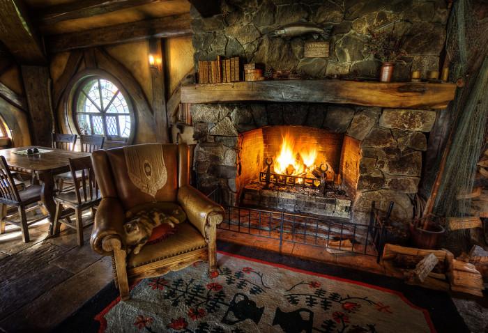 Уют. Зона комфорта.  Автор фото: Trey Ratcliff.