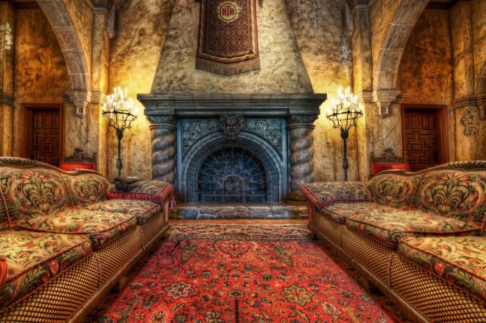 Уютный зал. Автор фото: Trey Ratcliff.
