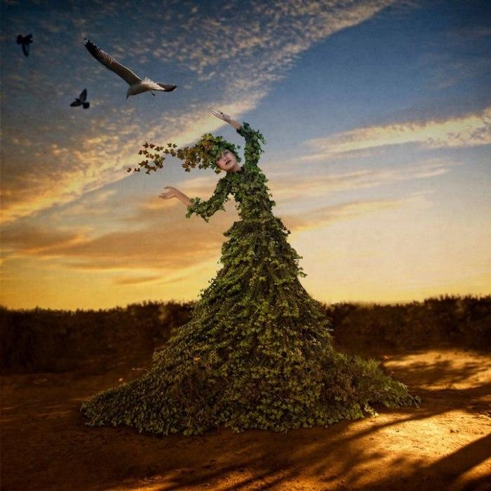 Изменение сезонов (Changing Seasons). Автор работ: Трини Шульц (Trini Schultz).