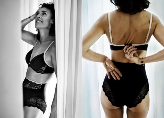 Женская красота в рекламе нижнего белья Triumph.