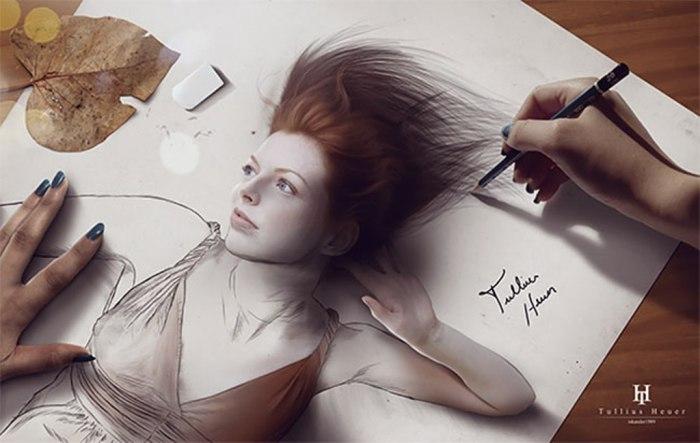 Ветер. Автор: Tullius Heuer.